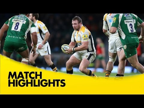 London Irish Vs Wasps - Aviva Premiership 2015/16 | Rugby Video Highlights