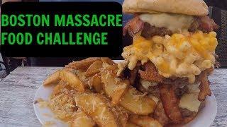 Video BOSTON MASSACRE FOOD CHALLENGE | PART 1 download MP3, 3GP, MP4, WEBM, AVI, FLV Oktober 2018