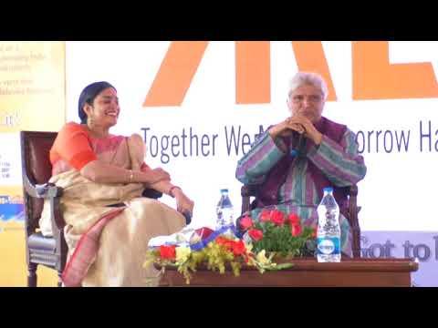 Javed Akhtar on what is a Poem, at Kolkata Literary Meet 2018