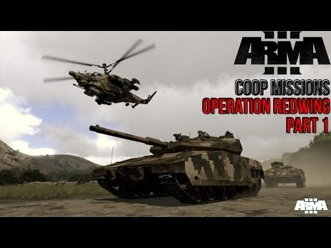 ArmA 3: Coop Mission - Operation Redwing Part 1 - I'm The Lone Survivor