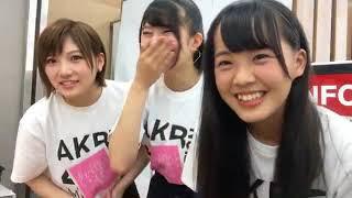 Video 171004 Showroom  - Gyouten Yurina with Okada Nana and Fukuda Akari download MP3, 3GP, MP4, WEBM, AVI, FLV September 2018