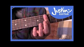Funky Minor 7 Guitar Chords & Cool Variations Minor 6 Sus4: Funk Guitar Course Lesson Tutorial s1p6