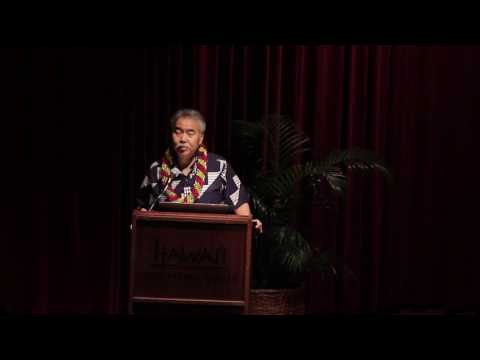 Governor David Ige - 3rd Annual EIH Hawaii School Empowerment Conference on January 14, 2017