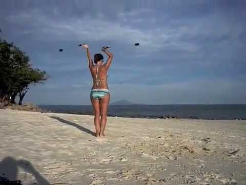 Dancing at the Beach - YouTube