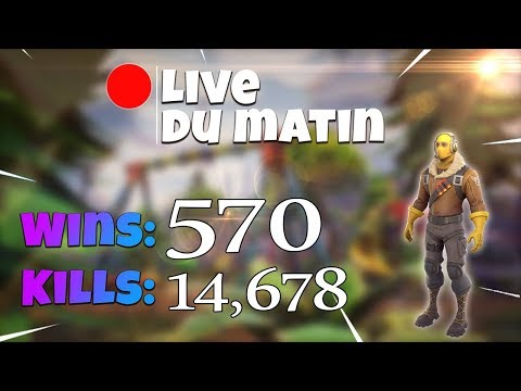 [FR/PC/LIVE] Fortnite en solo 570 wins!