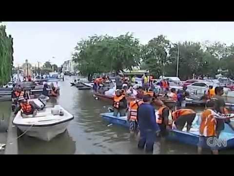 CNN Report - Worst Flood in Thailand History