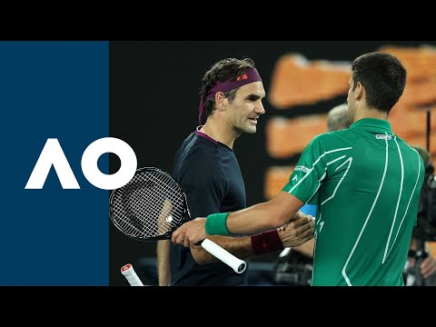 Roger Federer Vs Novak Djokovic - Extended Highlights (SF) | Australian Open 2020