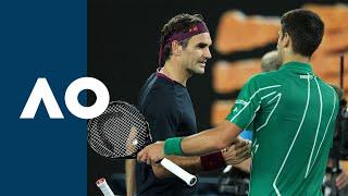 Roger Federer Vs Novak Djokovic - Extended Highlights Sf   Australian Open 2020
