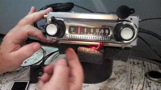 1962-66 Ford F100 original AM radio