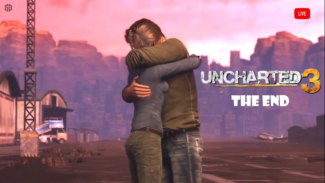 Uncharted 3 THE END (LIVE)    Science's Bedroom