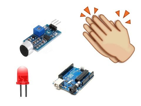 Sound Sensor Module with Arduino Tutorial Clap Switch!!!