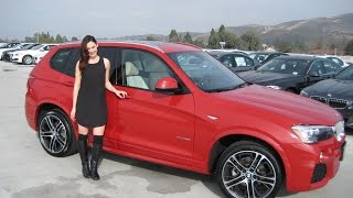 "New BMW X3 XDRIVE 28I M SPORT PACKAGE / 20"" M Wheels / BMW Review"