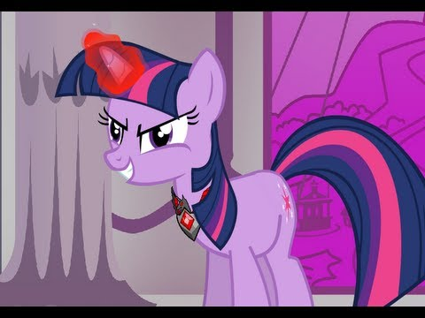 How NOT to become an alicorn (Animation): Twilight uses the alicorn amulet to well...become an alicorn. Celestia doesn't seem to be too happy about it though....   Don't take this video seriously, it's just for fun. I just had to jump on this silly alicorn Twilight bandwagon. I think people are overeacting to it, and the opinions of some people about it are quite amusing. It reminds me of the story chicken little when people say