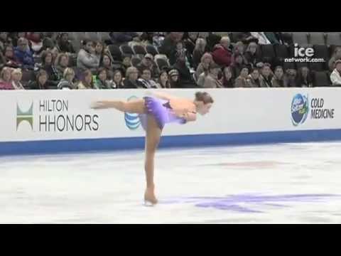 2012 U.S. junior champion Gracie Gold's Short Program - 2012 U.S. Championships