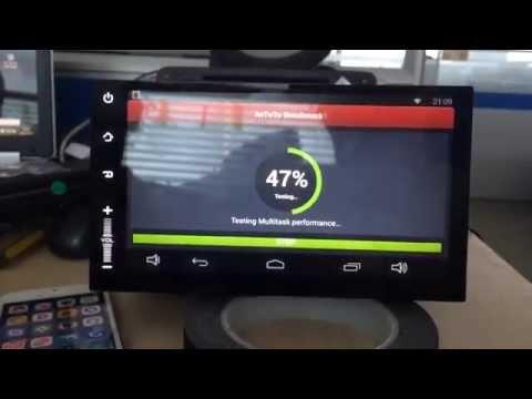 "7"" 2 DIN Radio Navi Android 4.4 QuadCore Wifi Multi-Tactil (1GB RAM, Opcional 2GB)"