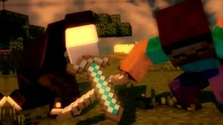 ANIMATION ROBLOX: ROBLOX vs STEVE MINECRAFT - EPIC FIGHT