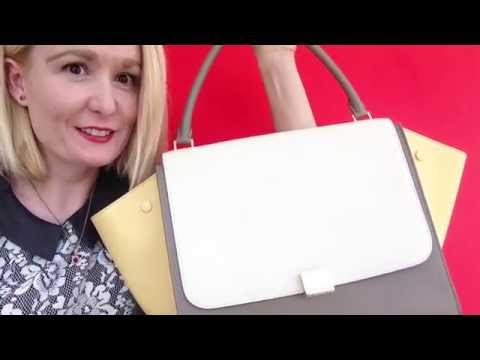 discount celine handbags - My New Celine Trapeze Bag 2014 ! - YouTube