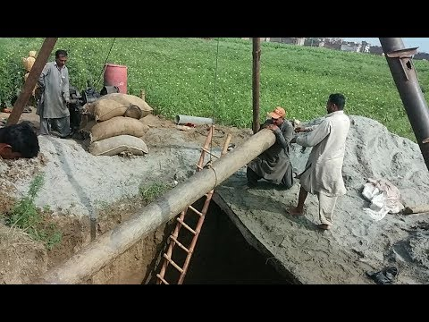 Tube Well Deep well Construction in Punjab | Solar tube Well Pump | Tube Water Well Pump in Pakistan