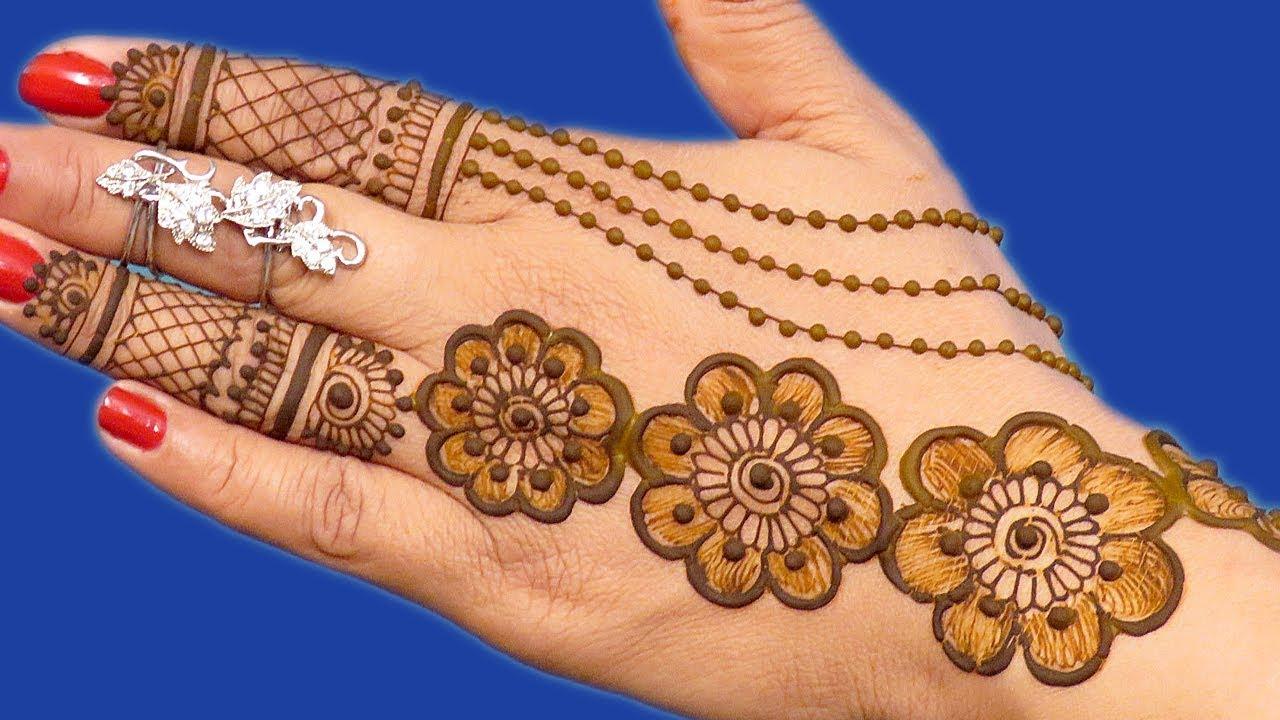 Mehndi Design 291 Eid Special Mehndi Design For Hands New