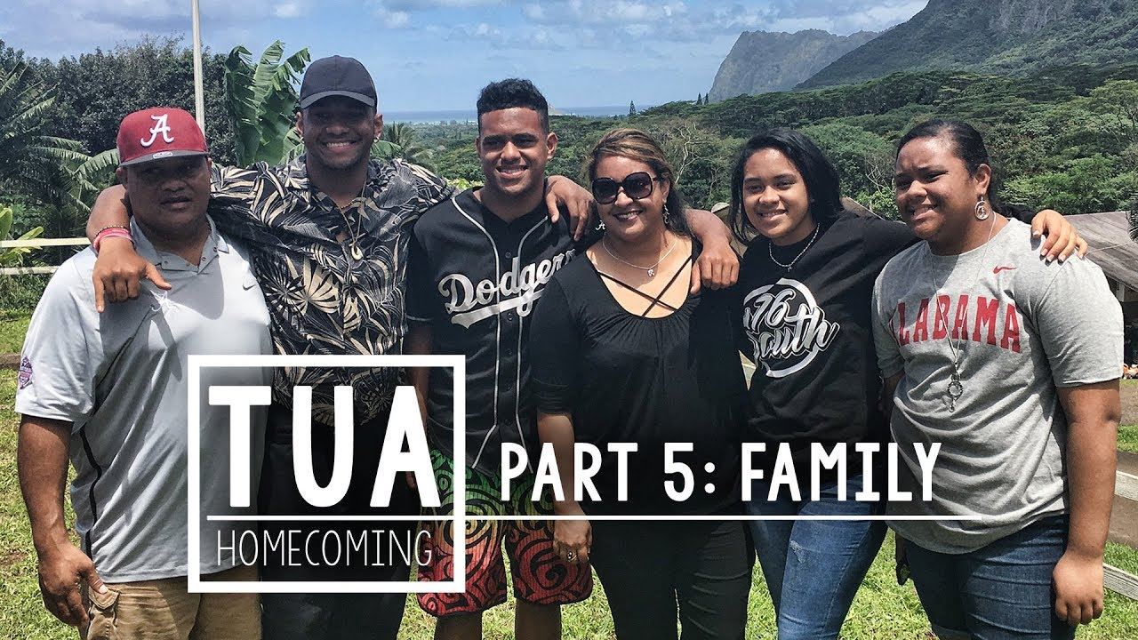 Tua Homecoming Part 5 The Tagovailoas Explain Why Moving To Alabama Was Best For Their Family