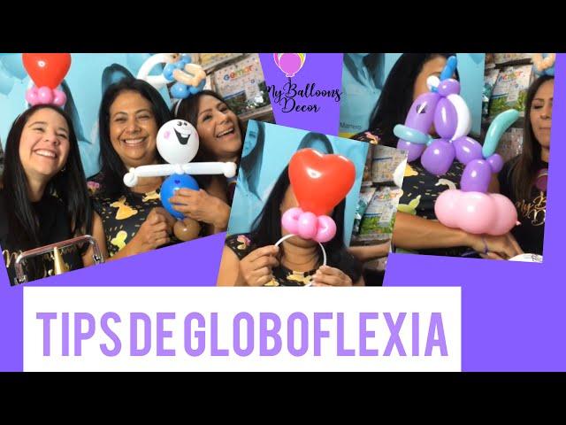 Tips de globoflexia con @poofproductions