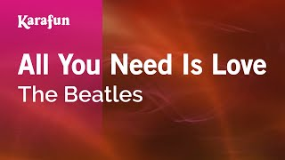 Karaoke All You Need Is Love - The Beatles *