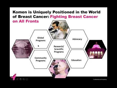 Introduction to Susan G  Komen and Komen Advocates in Science