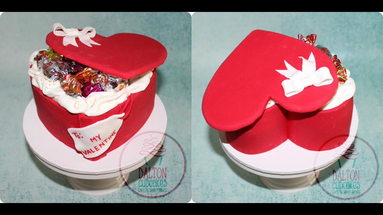 Valentineu0027s Chocolate Box Cake