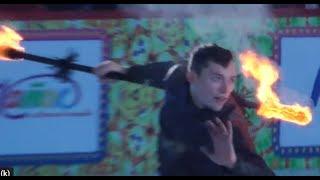 """Клемент Пинель в шоу """"Королевы Льда"""" на Красной Площади 11.01.19"""