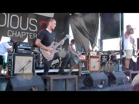 Texas In July - Cry Wolf - Live 8-3-13 Vans Warped Tour