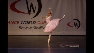 La Sylphide Ballet School - Maria Popa, 13 years - Swanilda variation