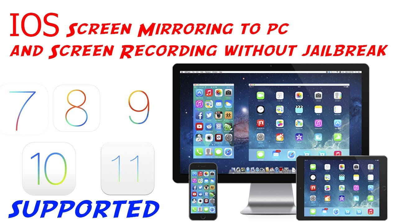 iphone screen mirroring iphone screen mirroring plus screen recording ios 9 10 11 12282