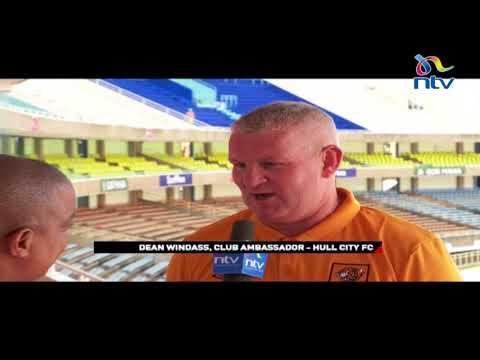 Hull City arrive at Kasarani for Gor Mahia clash on Sunday