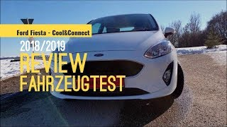 Ford Fiesta 2019 MK8 1.1i Review Cool & Connect