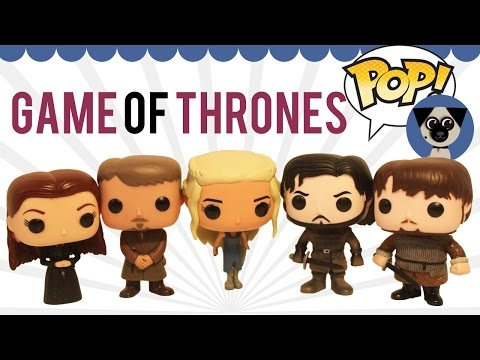 Funko Faves: Game Of Thrones: Daenerys, Sansa, Sam, Jon Snow