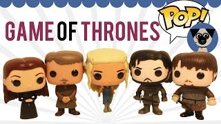Funko Faves: Game of Thrones: Daenerys, Sansa, Sam, Jon Snow