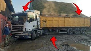 Sprzedaż Zboża ☆Załadunek Pszenżyta Na Ciężarówkę ☆Pomagamy Panu Andrzejowi