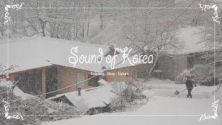 시골마을에 눈이 많이 내렸어요 | 눈내리는 풍경 | 함…