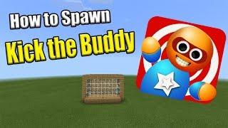 How to Spawn KICK THE BUDDY | Minecraft PE