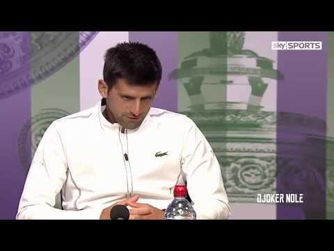 Novak Djokovic about Injury   Wimbledon 2017 HD720p