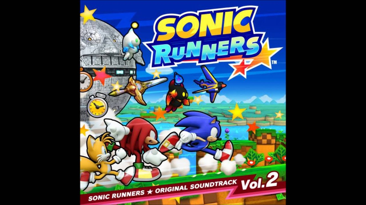 Sonic Runners Vol 2 Magical Snow Day Frozen Factory Christmas