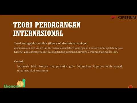20.5 Teori Perdagangan Internasional - Ekonomi