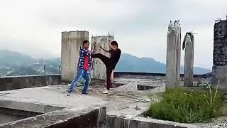 New Bodo Action Video (Samith Basumatary)