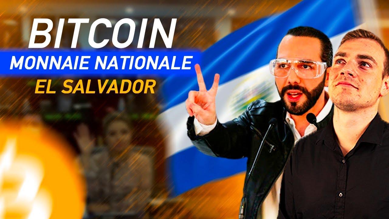 Le BITCOIN reconnu comme MONNAIE légale | El Salvador