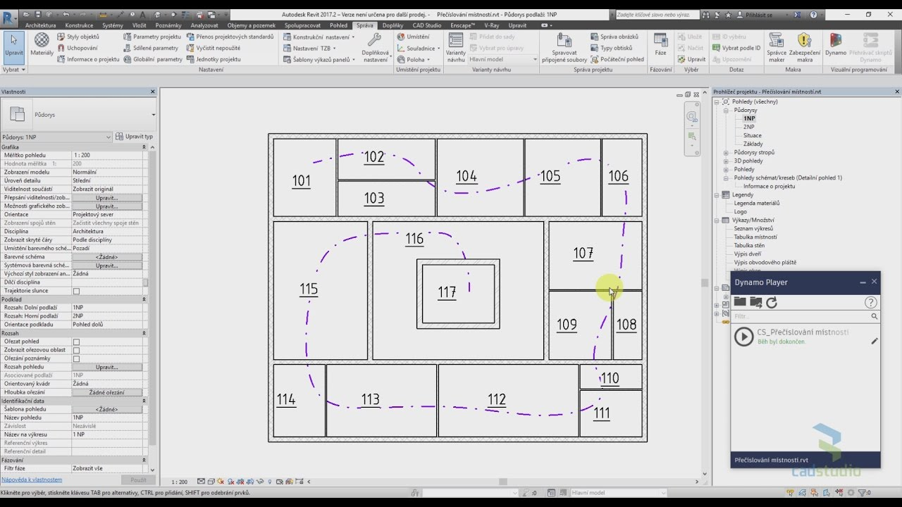 CAD Forum - How to renumber Revit rooms in a given order?