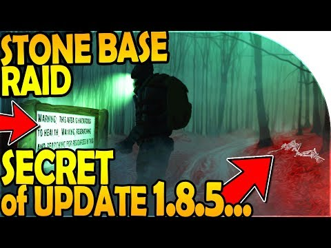 THE *SECRET* of UPDATE 1.8.5 - STONE BASE RAID - Last Day On Earth Survival Update 1.8.4