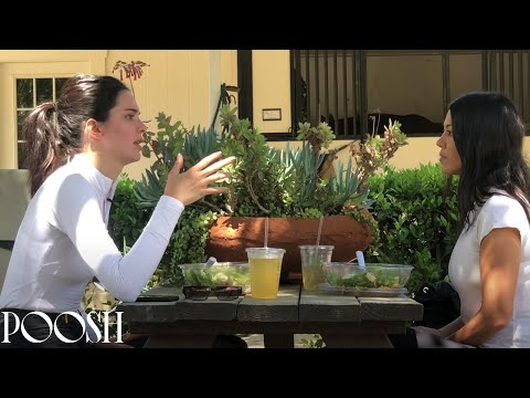 Kourtney Kardashian & Kendall Jenner Talk Love & Dealing with Negative Energy | POOSH