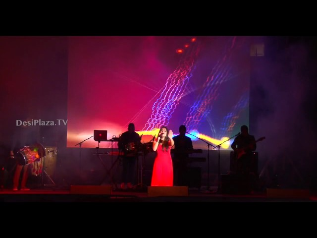 Excellent live song performance by Jyotica made audience dance from their chairs