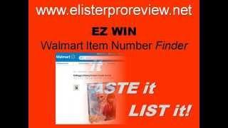 Ez Win Walmart Item Number Finder By Elister Pro Works Like Ez Asin
