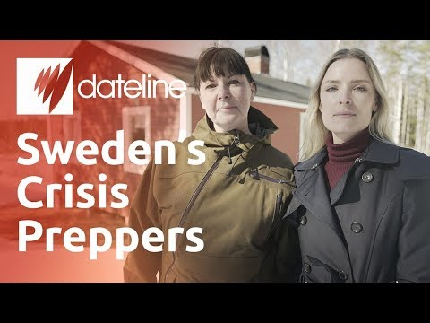 Why Sweden is encouraging citizens to become preppers.